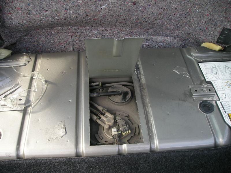 99 f body    fuel    pump tank access door