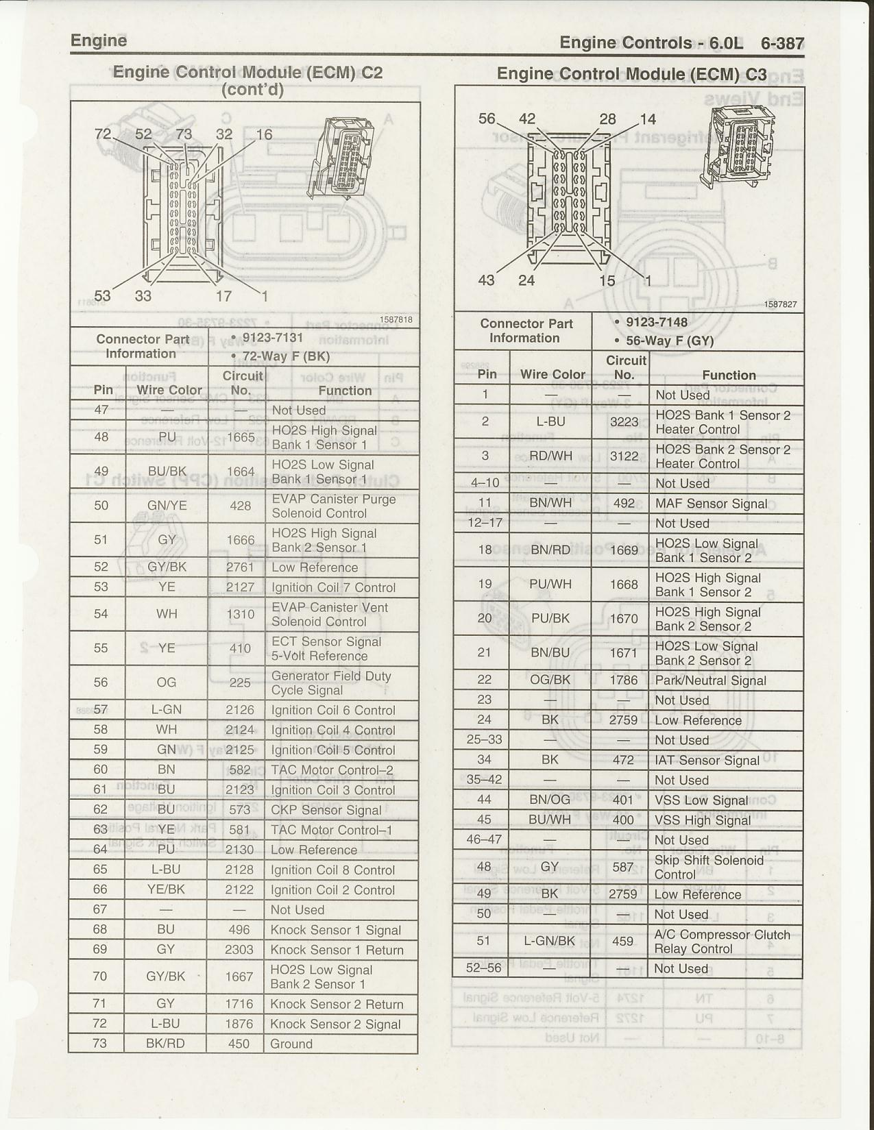 E38 Ecm Pinout Request] Can Anyone Scan In A Couple Pictures For 1992 Corvette Ecm Wiring Diagram Corvette Ecm Wiring