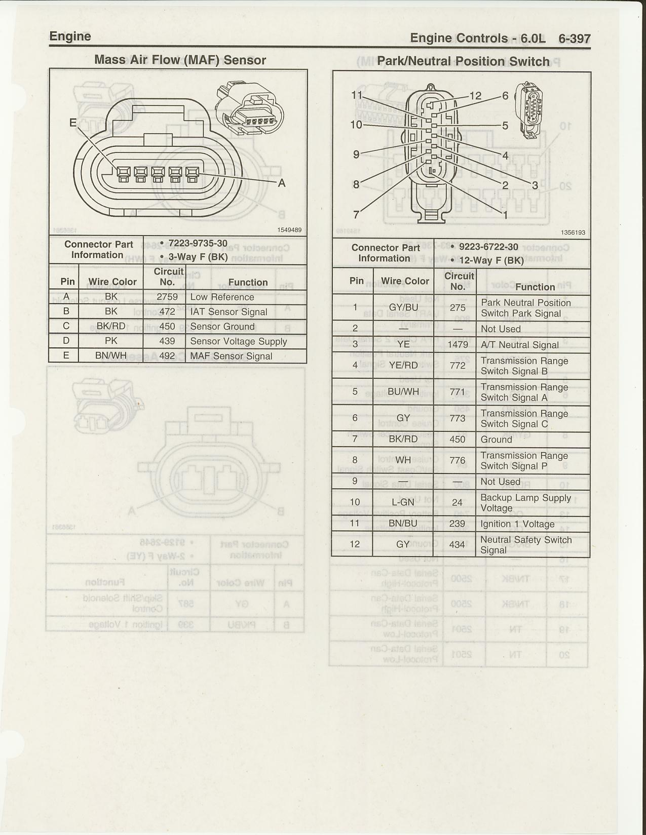 2006 Gto Map Iat Wiring Diagram Portal 1967 Pontiac Tachometer Ls2 Maf Sensor Harness Pinouts Ls1tech Camaro And Firebird Rh Com Color 1964 Dash