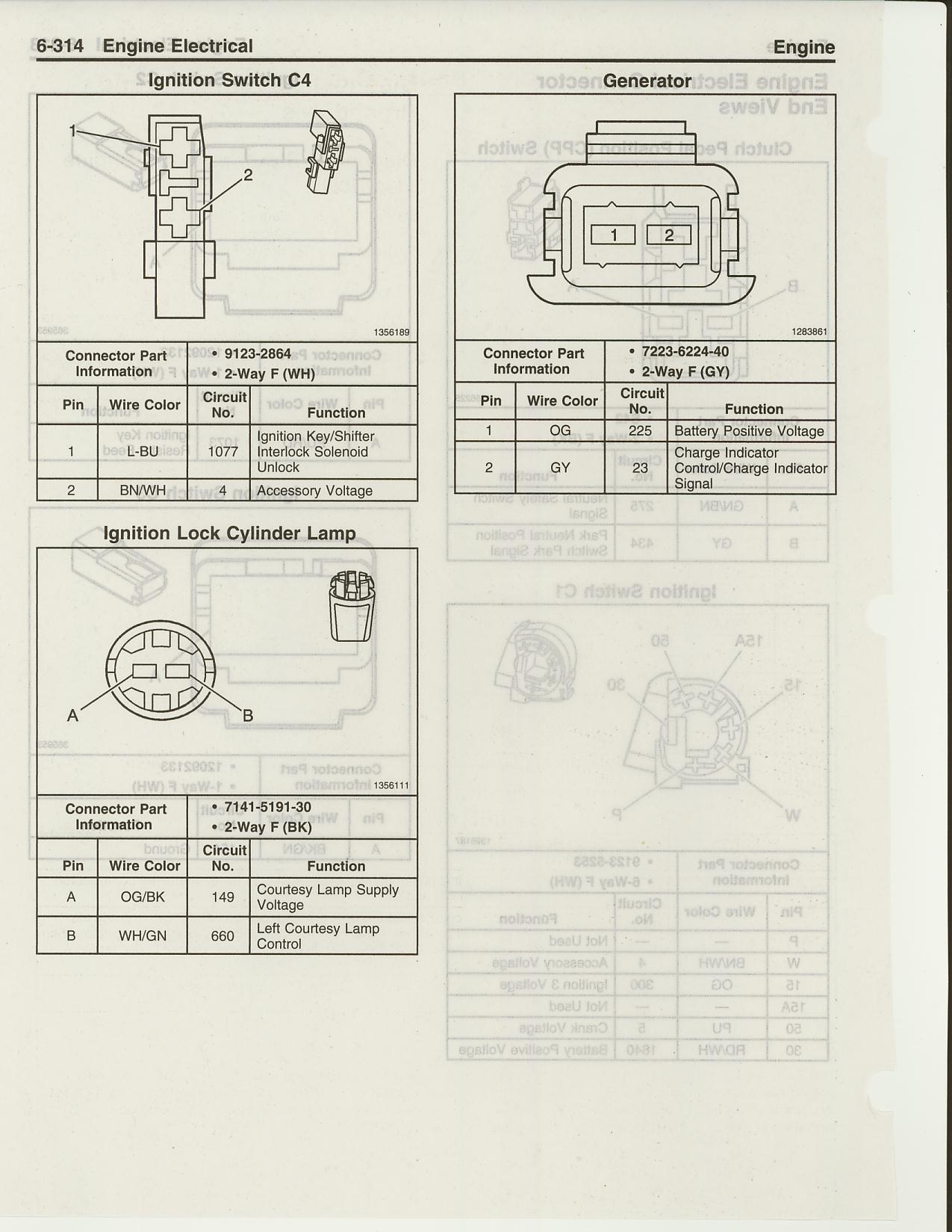 Technical Data For Ls2 Helms Information 2 Way Generator Switch Engine Electrical Connector Views Ignit Sw C4 Lock Cylinder Lamp