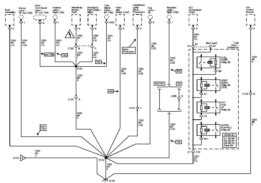 C6 Corvette Schematic Wiring Library 2007 Diagrams Grounds G102