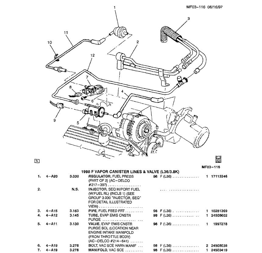 ford c6 transmission valve body vacuum diagram