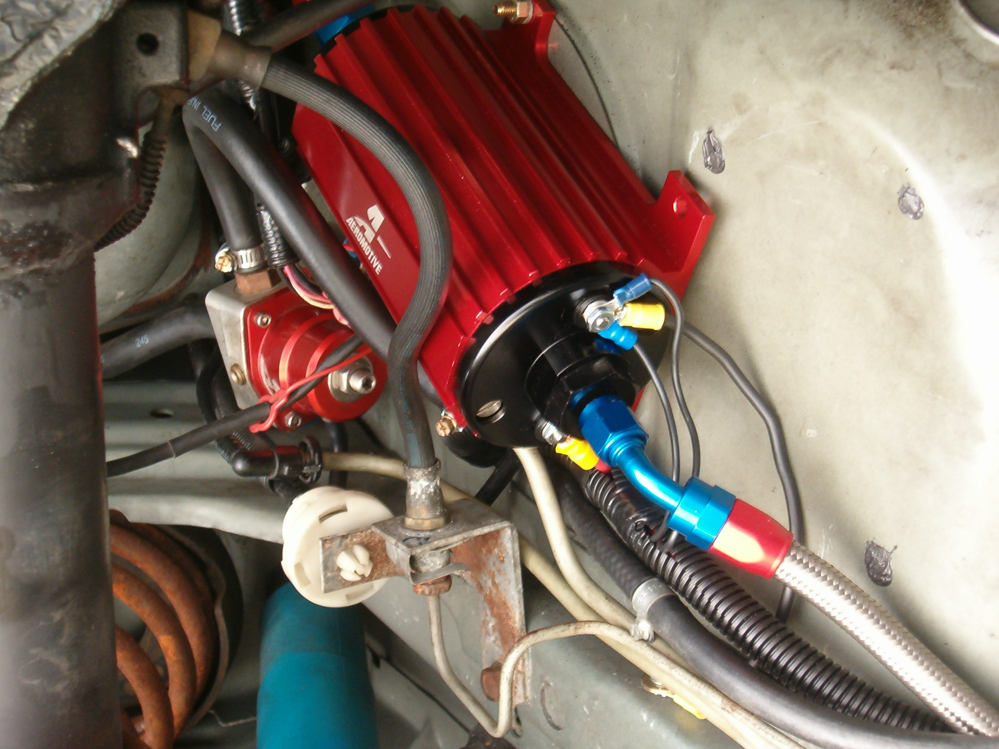 High Flow Pump And Controller Aeromotive Fuel Filter