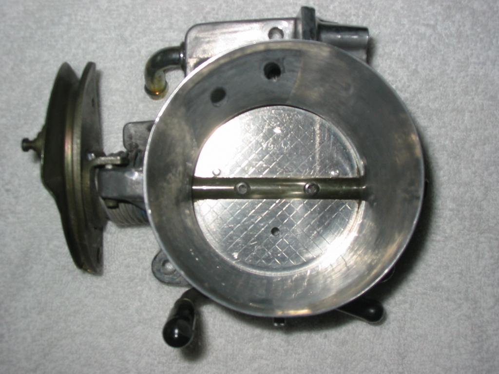 LS1 Throttle Body Port and Polish Instructions
