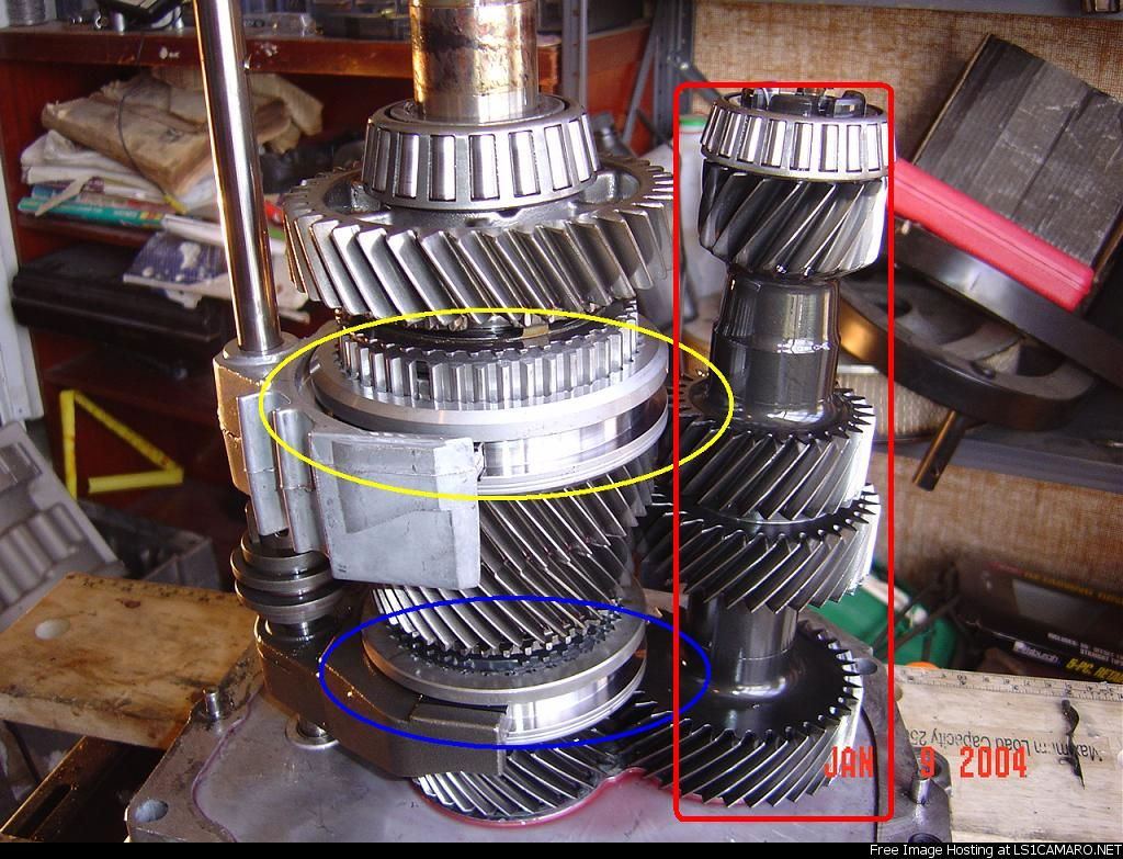 Step By T 56 Rebuild With Pics T56 Engine Diagram